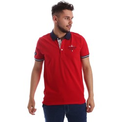 Kleidung Herren Polohemden Key Up 253QG 0001 Polo Man Rot Rot