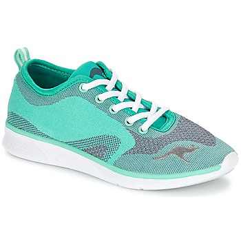 Schuhe Damen Sneaker Low Kangaroos K-LIGHT 8004 Türkis