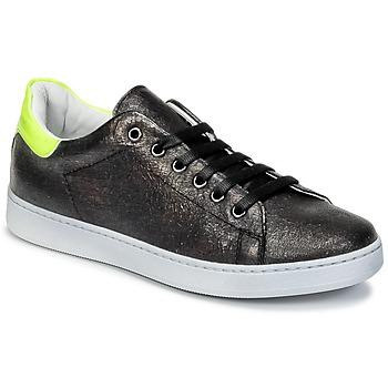 Schuhe Kinder Sneaker Low Young Elegant People EDENI Schwarz / Gelb