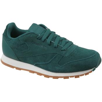 Schuhe Kinder Sneaker Low Reebok Sport CL Leather SG CM9079 Green