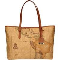Taschen Damen Shopper / Einkaufstasche Alviero Martini D005/6000 NATURAL