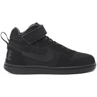 Schuhe Kinder Sneaker High Nike Court Borough Mid Psv Schwarz