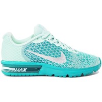 Schuhe Kinder Sneaker Low Nike Air Max Sequent 2 GS Grün
