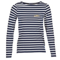Kleidung Damen Langarmshirts Betty London FLIGEME Marine / Weiss