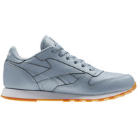 Schuhe Kinder Sneaker Low Reebok Classic Classic Leather Gum Grey