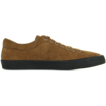 Schuhe Herren Sneaker Low Fred Perry Underspin Suede Ginger Black