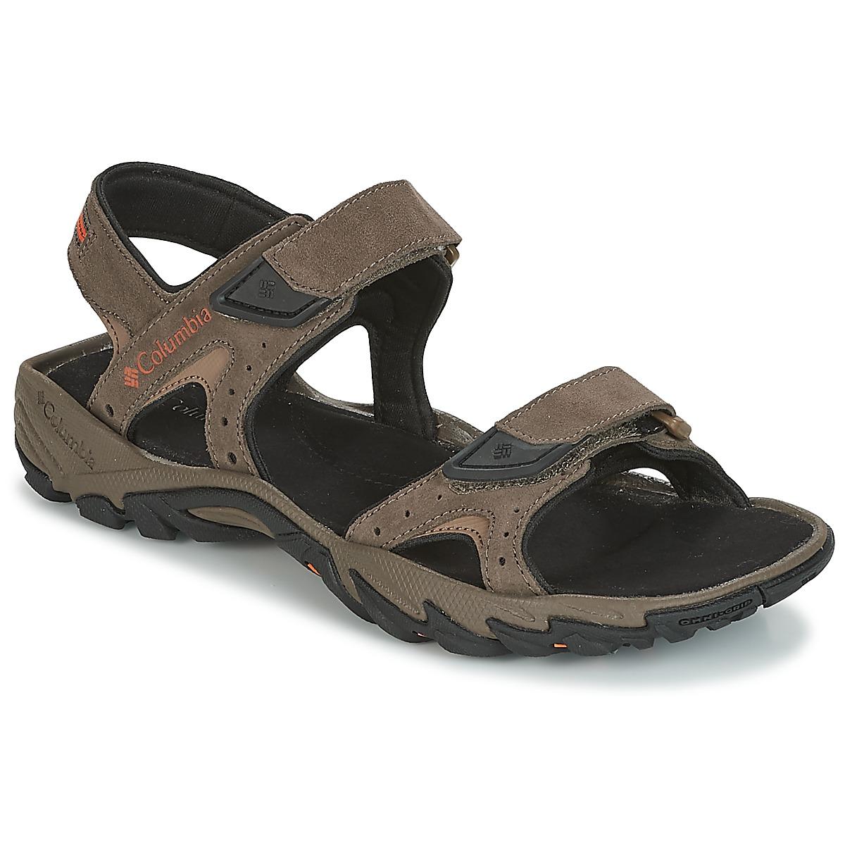 Columbia SANTIAM™ 2 STRAP Braun - Kostenloser Versand bei Spartoode ! - Schuhe Sportliche Sandalen Herren 59,99 €