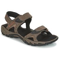 Schuhe Herren Sportliche Sandalen Columbia SANTIAM 2 STRAP Braun