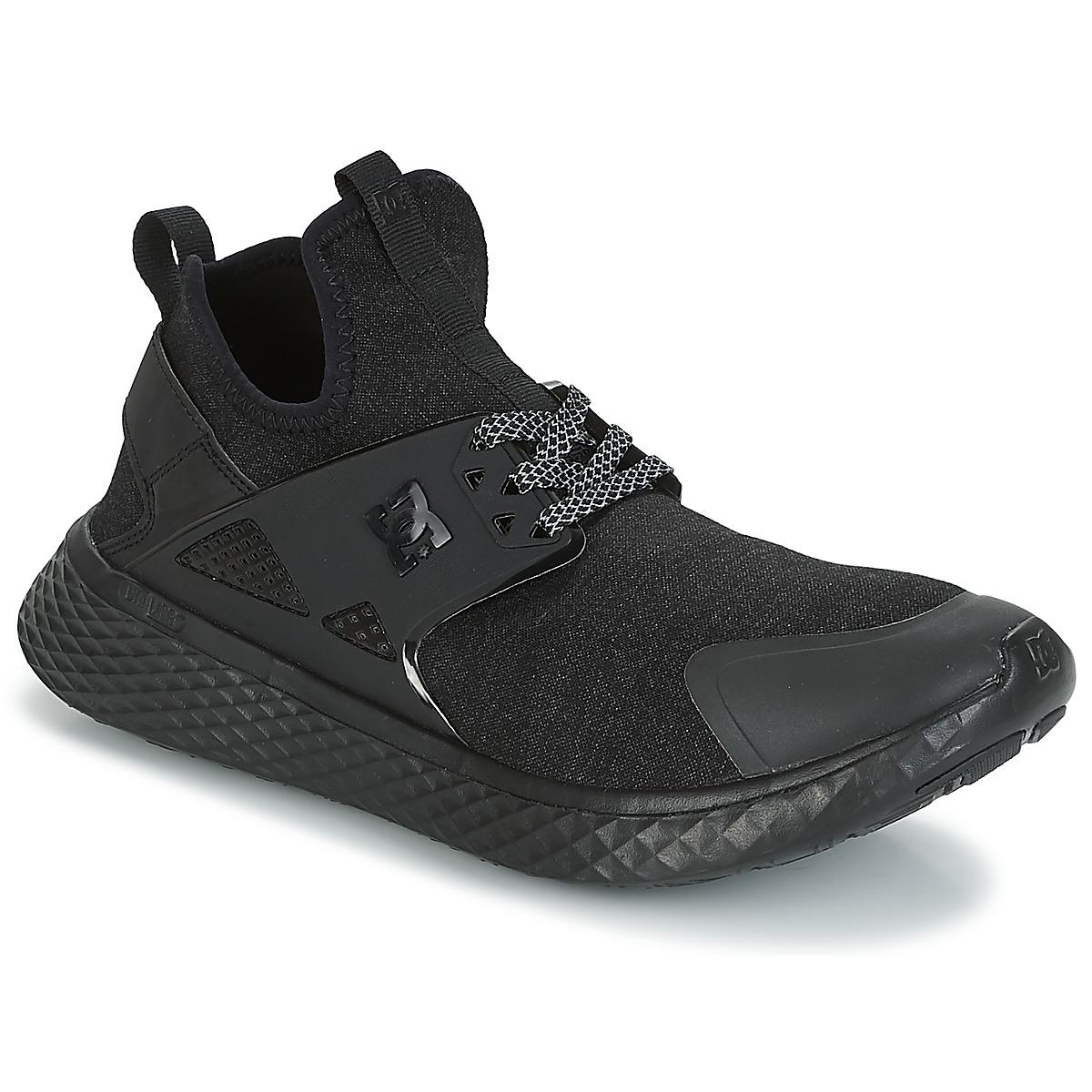 DC Shoes MERIDIAN PRESTI M SHOE 3BK Schwarz - Kostenloser Versand bei Spartoode ! - Schuhe Sneaker Low Herren 83,40 €