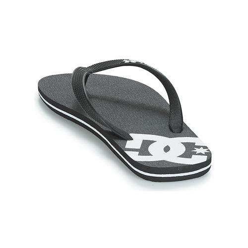 DC Shoes SPRAY M SNDL BLW Schwarz / Weiss