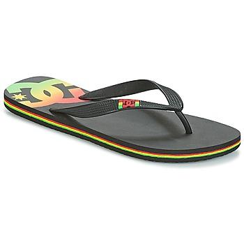 Schuhe Herren Zehensandalen DC Shoes SPRAY M SNDL RST Schwarz