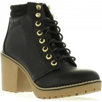 Schuhe Damen Low Boots Refresh 62196 Negro