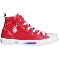 Schuhe Damen Sneaker High U.S Polo Assn. Sneakers Rot