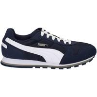 Schuhe Herren Sneaker Low Puma 359541 Turnschuhe Man Blau Blau