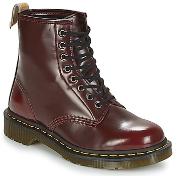 Schuhe Boots Dr Martens VEGAN 1460 Rot