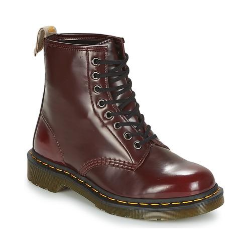Dr Martens VEGAN 1460 Rot  Schuhe Boots  140