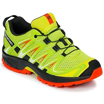 Schuhe Kinder Multisportschuhe Salomon XA PRO 3D J Gelb / Schwarz