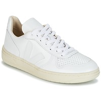 Schuhe Sneaker Low Veja V-10 Weiss