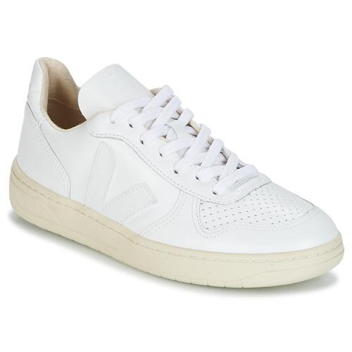 Veja V-10 Weiss  Schuhe Sneaker Low  100