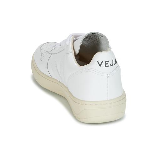 Veja V-10 Sneaker Weiss  Schuhe Sneaker V-10 Niedrig  125 ce6ebc