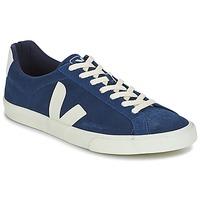 Schuhe Herren Sneaker Low Veja ESPLAR LOW LOGO Blau