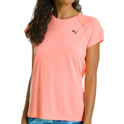 Kleidung Damen T-Shirts Puma NightCat S/S Tee Women Orange