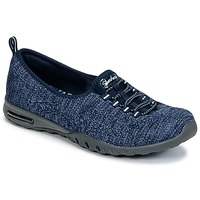 Schuhe Damen Sneaker Low Skechers EASY-AIR IN-MY-DREAMS Blau / Marine