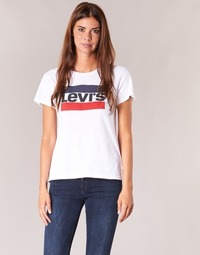Kleidung Damen T-Shirts Levi's THE PERFECT TEE Weiss