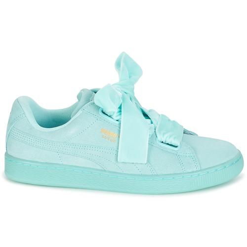 Puma SUEDE HEART RESET WN'S Blau   Pastel    Schuhe Turnschuhe Low Damen 7c3ceb