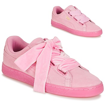 Schuhe Damen Sneaker Low Puma SUEDE HEART RESET WN'S Rose