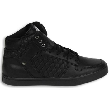 Schuhe Herren Sneaker High Cash Money Sneakers Hoch Schwarz