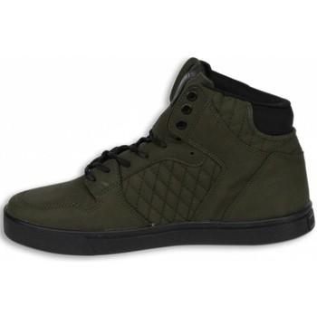 Schuhe Herren Sneaker High Cash Money Sneakers Hoch Grün