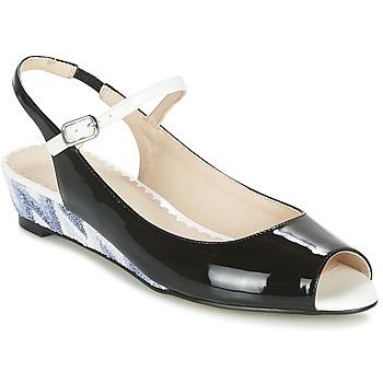 Schuhe Damen Sandalen / Sandaletten Mellow Yellow DALY Schwarz