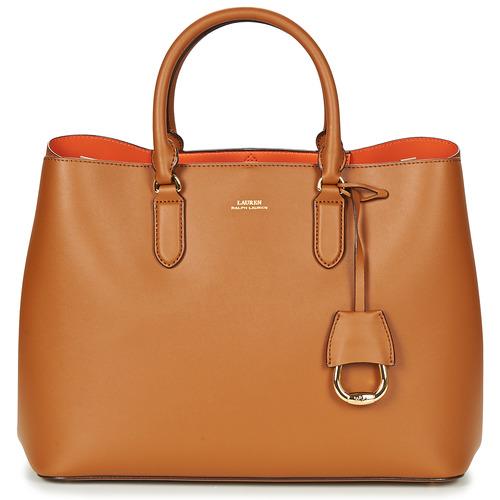 Taschen Damen Handtasche Lauren Ralph Lauren DRYDEN MARCY TOTE Cognac / Orange