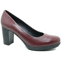 Schuhe Damen Pumps Moda Bella 79-653 Mujer Burdeos rouge