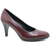 Schuhe Damen Pumps Moda Bella 67-653 Mujer Burdeos rouge