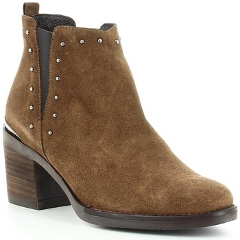 Schuhe Damen Low Boots Kissia 135 Marron