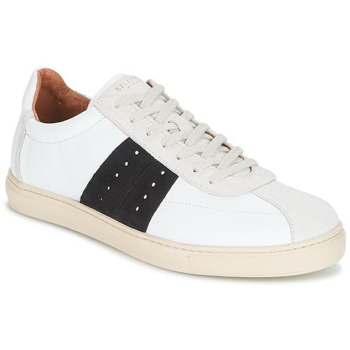 Selected SHNDURAN NEW MIX SNEAKER Weiss / Marine  Schuhe Sneaker Low Herren