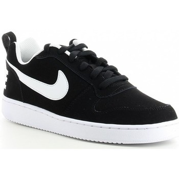 Schuhe Herren Sneaker Low Nike COURT BOROUGH LOW 838937 Noir
