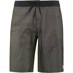 Kleidung Herren Shorts / Bermudas Reebok Sport CrossFit Super Nasty Tactical Boardshorts Green
