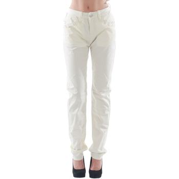 Kleidung Damen 5-Pocket-Hosen Fornarina FOR08007 Blanco roto