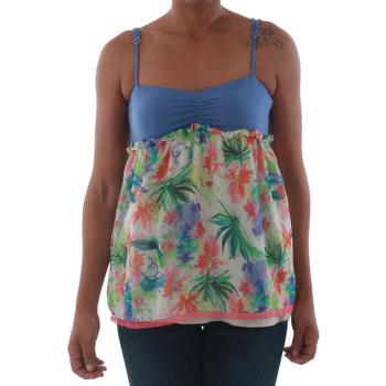 Kleidung Damen Tops Fornarina VIOLAINE_MULTICOLOR Azul