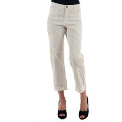 Kleidung Damen Chinohosen Miss Sixty MIS01030 Blanco roto