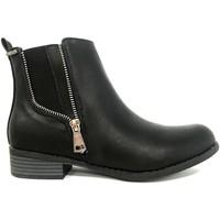 Schuhe Damen Boots Cassis Côte d'Azur LUTY  Boots Noir a talons Schwarz