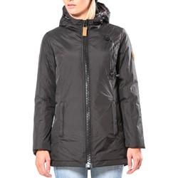 Kleidung Damen Jacken 80DB Original Parka ML Capuche - Ecouteurs inclus 80DB Bunty Carbon Schwarz