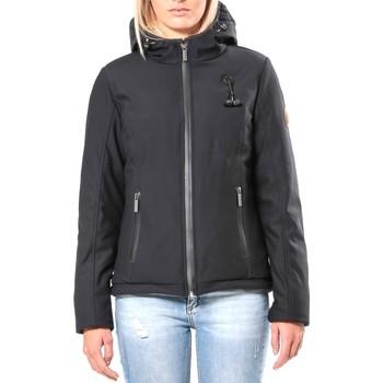 Kleidung Damen Jacken 80DB Original Blouson ML Capuche - Ecouteurs inclus 80DB Sally Carbon Schwarz
