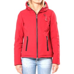 Kleidung Damen Jacken 80DB Original Blouson ML Capuche - Ecouteurs inclus 80DB Sally Deep Red Rot