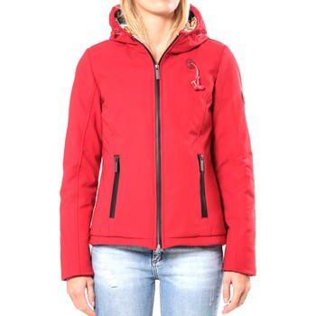 Kleidung Damen Jacken 80DB Original Blouson ML Capuche - Ecouteurs inclus 80DB Sally Deep Red Rot