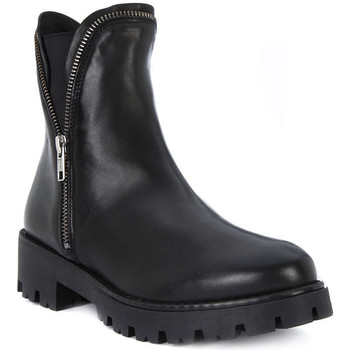 Schuhe Damen Low Boots Cult METALLICA MID 424 Nero