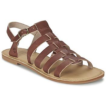Schuhe Damen Sandalen / Sandaletten Timberland EARTHKEEPERS® SHEAFE FISHERMAN Braun